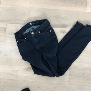 7 for all Mankind - the Skinny - Skinny jeans